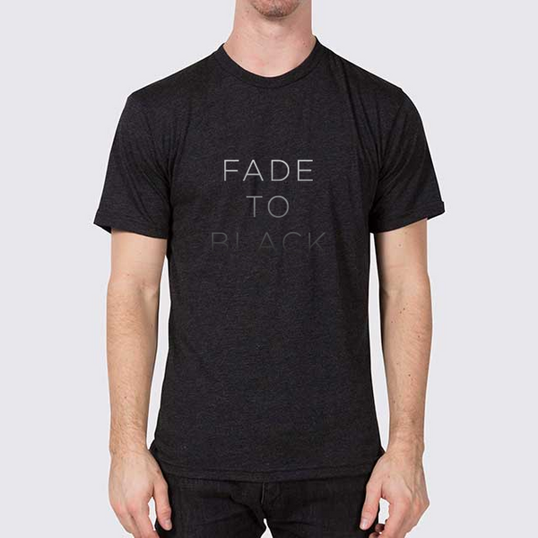 Fade to Black T-Shirt Men