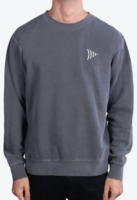 Grey Frame.io Crew Neck