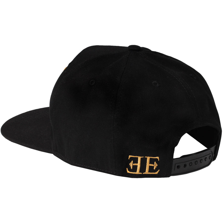Snapback - Elements Snapback - Black X Gold - Engineered Esthetics