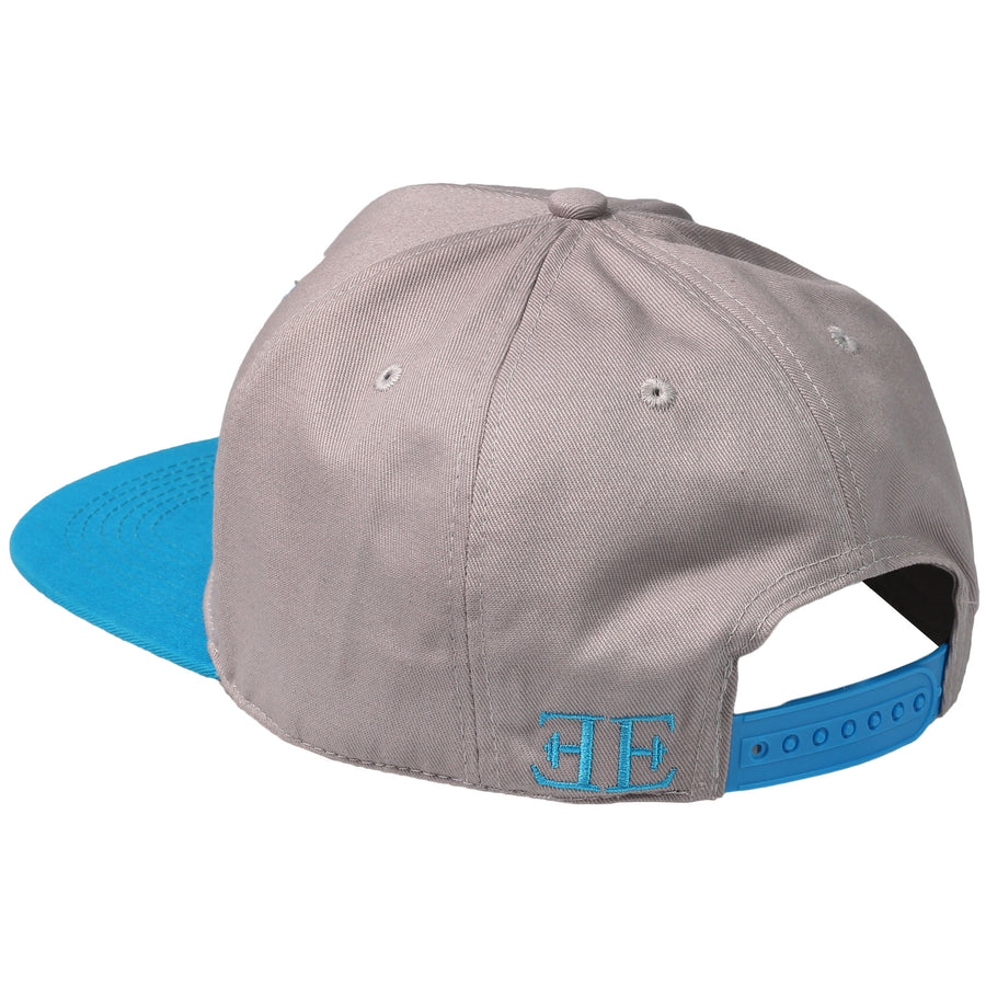 Snapback - Elements Snapback - Silver X Blue - Engineered Esthetics