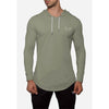 Engineered Esthetics HALO Long Sleeve Muscle Fit Hoodie - Khaki front