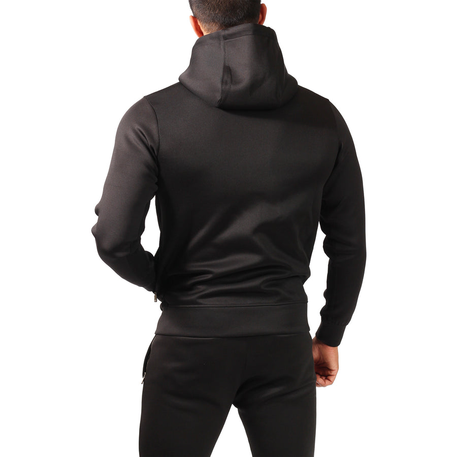 Hoodie - Elements Hoodie - Jet Black - Engineered Esthetics
