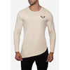 Engineered Esthetics NERO Long Sleeve Muscle Fit T-Shirt - Cream front