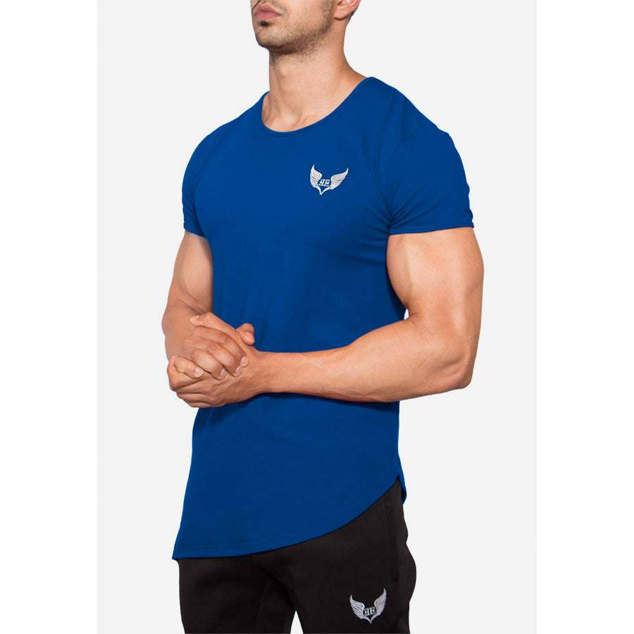 Engineered Esthetics NXUS Short Sleeve Muscle Fit T-Shirt - Royal Blue front