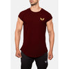 Engineered Esthetics RYDR Capped Sleeve Muscle Fit T-Shirt - Maroon front