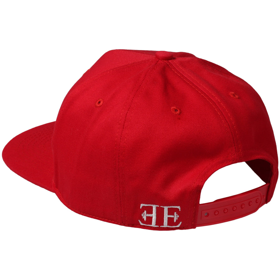 Snapback - Elements Snapback - Red X White - Engineered Esthetics