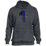 Blue Line Punisher -  Pullover Hoodie