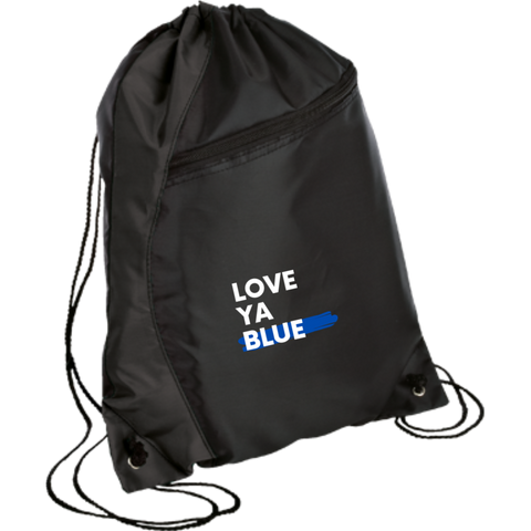Love Ya Blue - Colorblock Cinch Pack