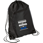 Defend and Honor the Blue - Colorblock Cinch Pack