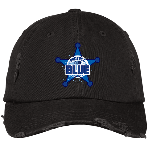 Protect Our Blue - Distressed Cap