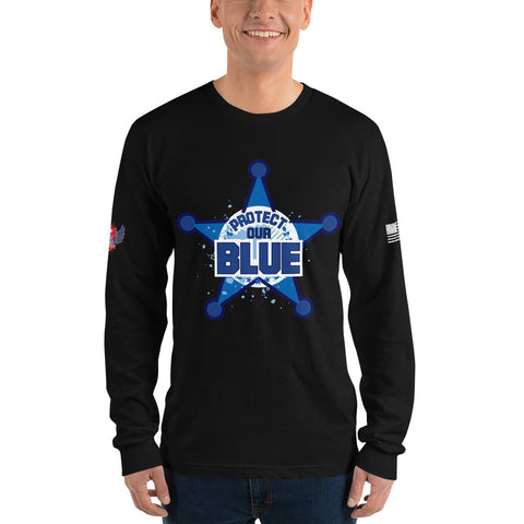 Protect The Blue - Long sleeve t-shirt