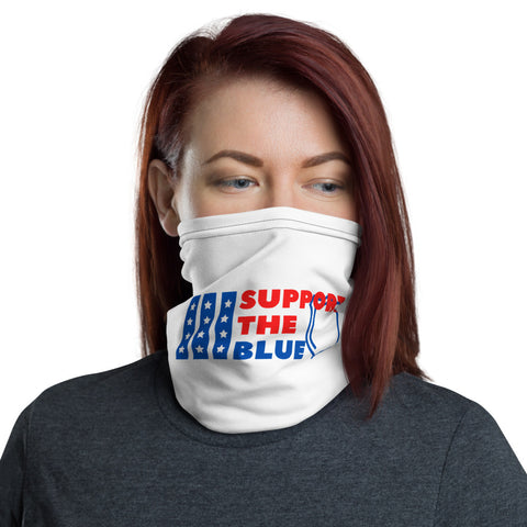 Support The Blue - Neck Gaiter