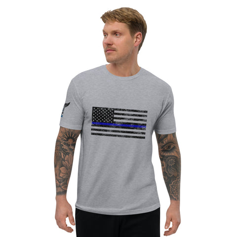 Support the Blue Flag - Short Sleeve T-shirt