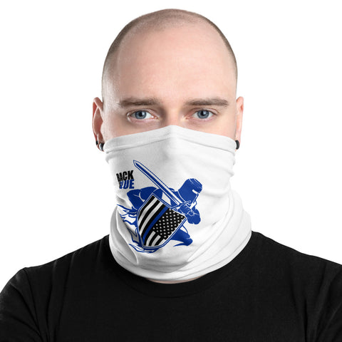 Back the Blue Warrior - Neck Gaiter