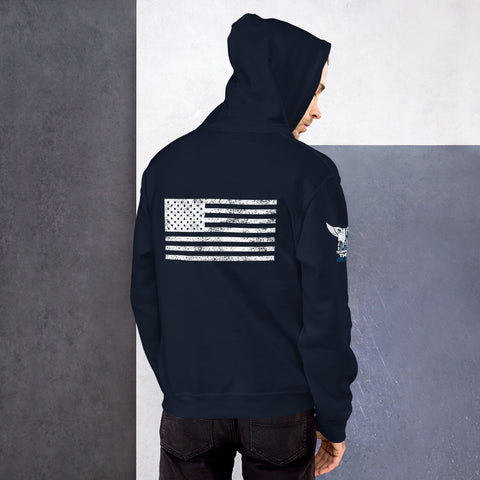 Support the Blue Flag - Unisex Hoodie