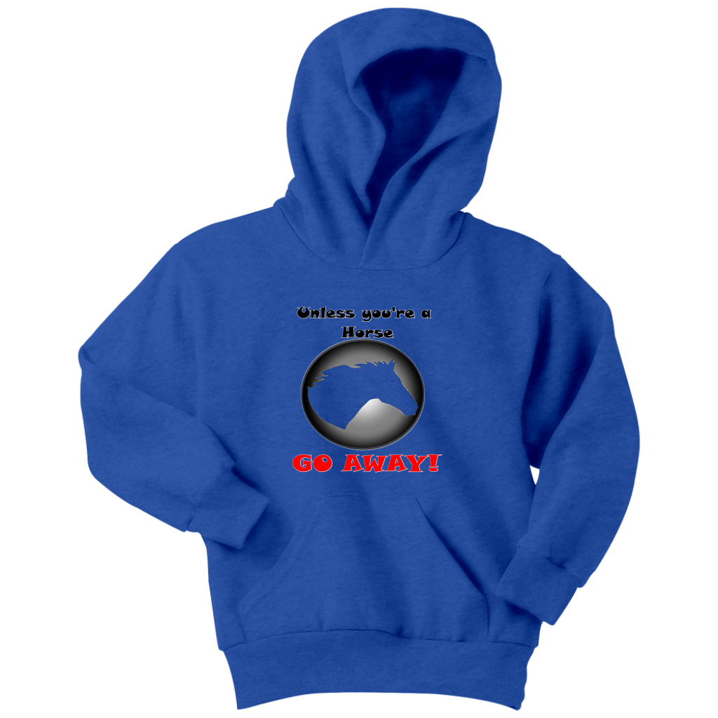 "PFR ""Unless you're a Horse"" Youth hoodie"