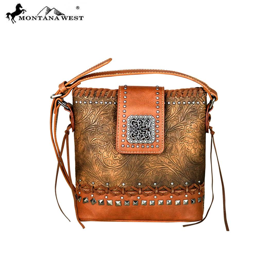 MW610-8360 Montana West Embossed Collection Crossbody
