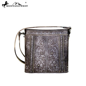 MW630-8360 Montana West Embroidered Collection Crossbody