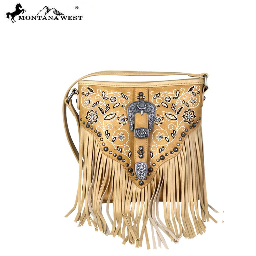 MW689-8360 Montana West Fringe Collection Cross body