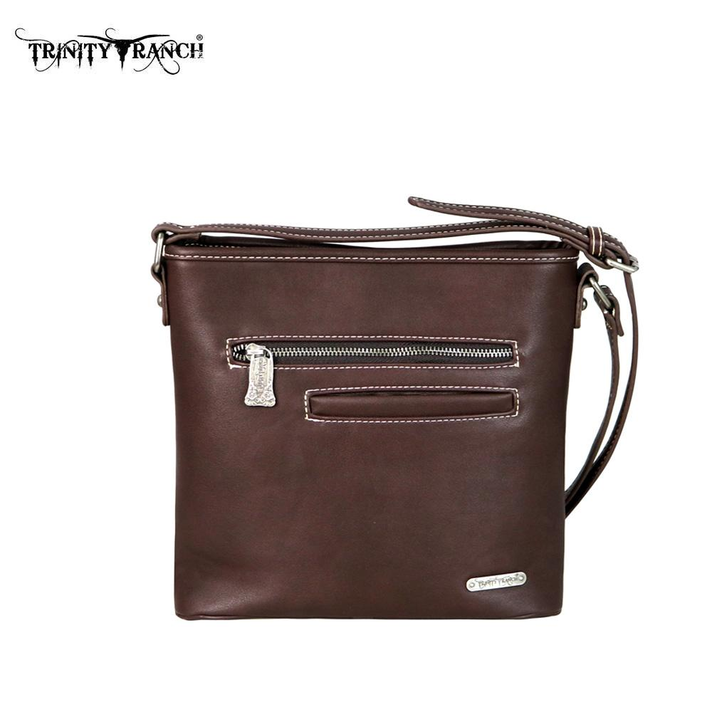 PFRTR50-8300 Trinity Ranch Tooled Collection Cross body