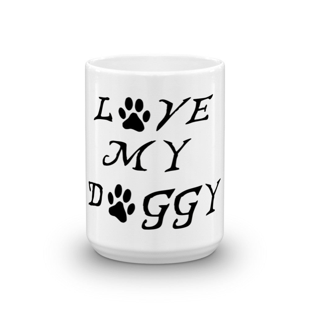 """Love my doggy"" Mug"