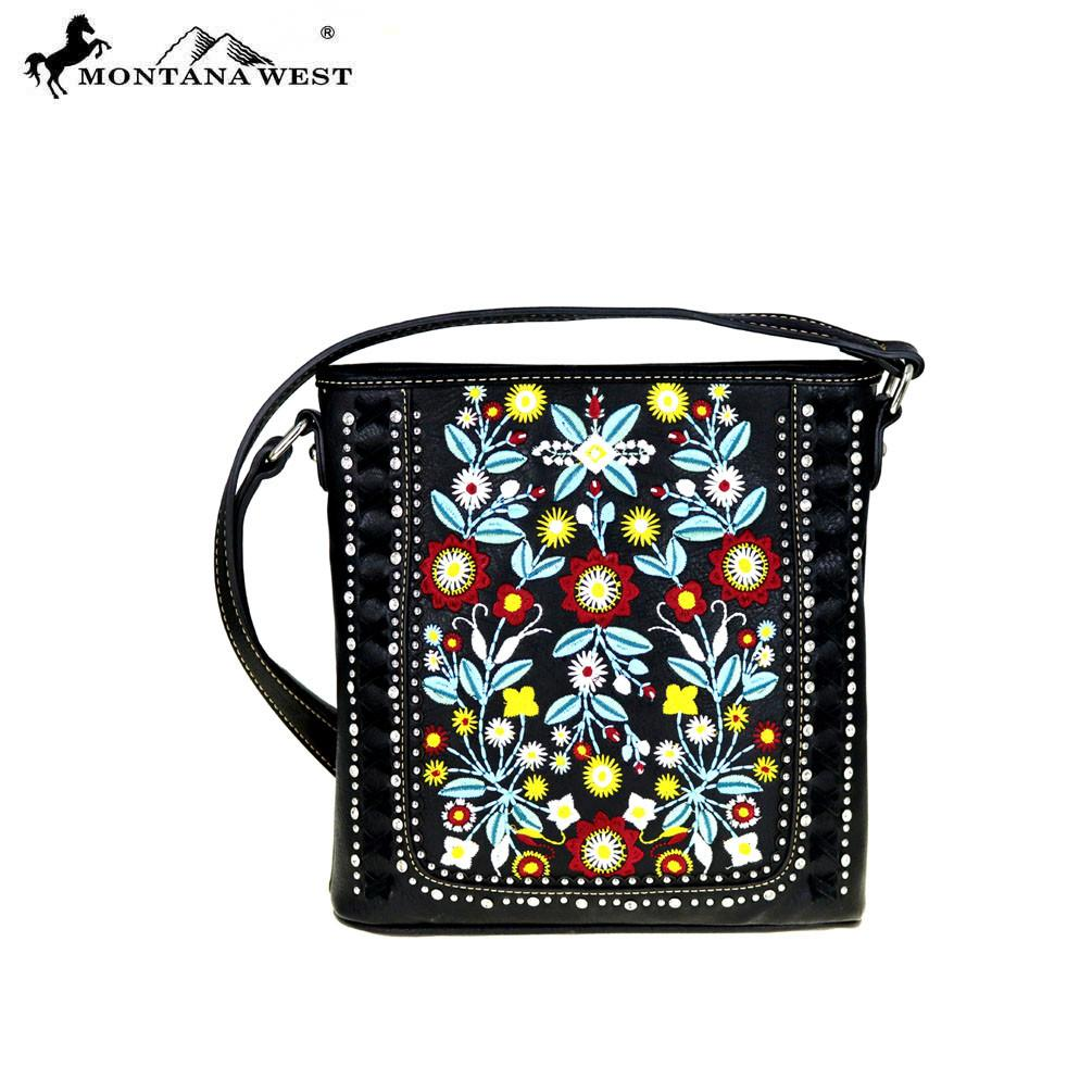MW473-8287 Montana West Floral Collection Crossbody
