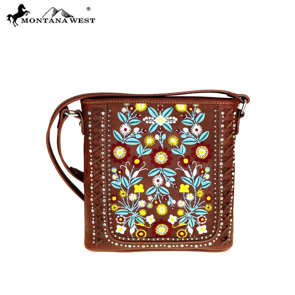 MW473-8287 Montana West Floral Collection Cross body