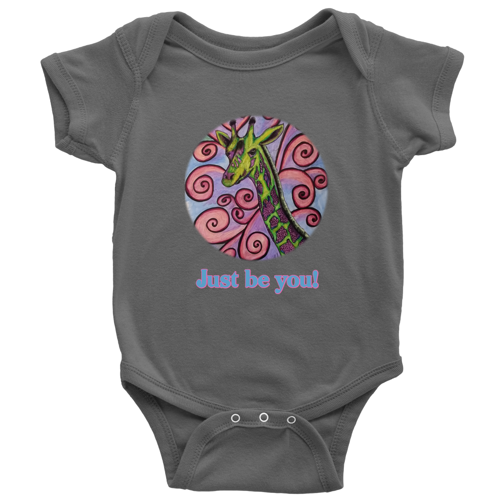 """Just be you"" Baby Onesie"