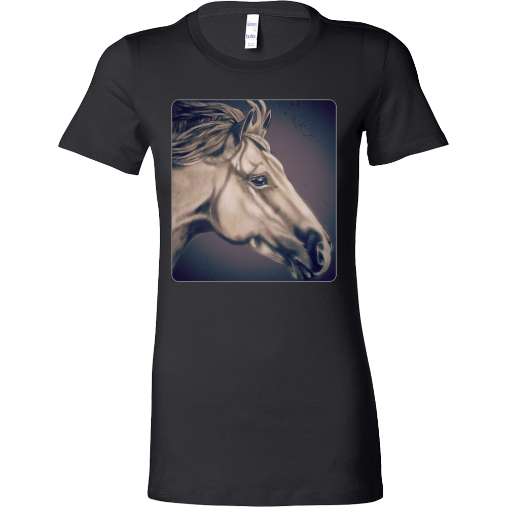 Gray Horse Bella Women's Shirt