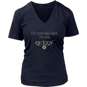Queen District Women's V-Neck