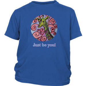 """Just be you"" District Youth Shirt"