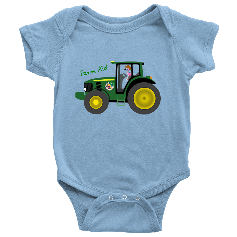 Farm Kid Baby Onesie