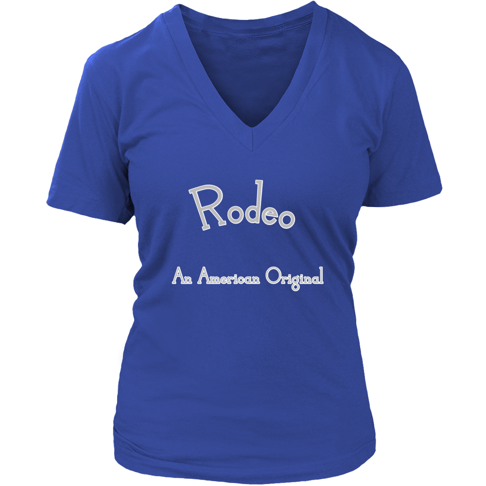 Rodeo District Womens V-Neck