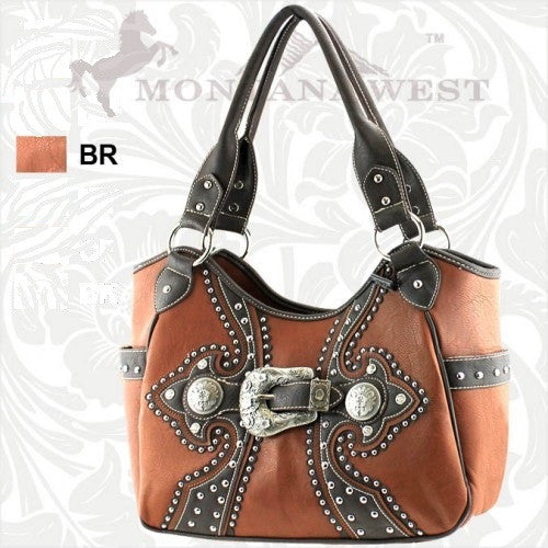 PFRVSB-8110 Montana West Buckle Collection Handbag