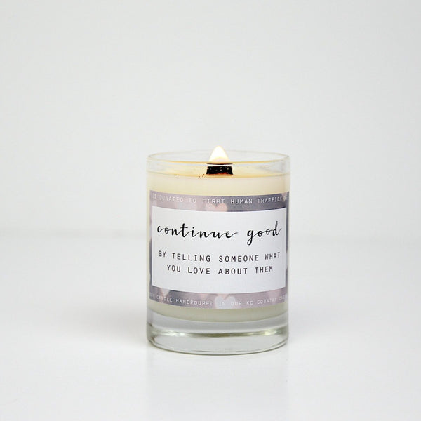 Mini Cherish Candle