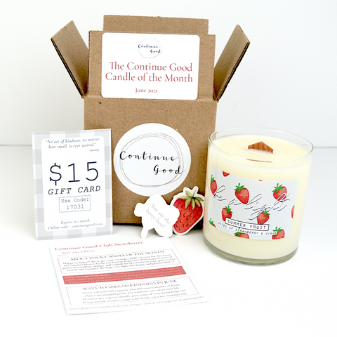 Monthly Surprise Candle - Candle of the Month Club Subscription