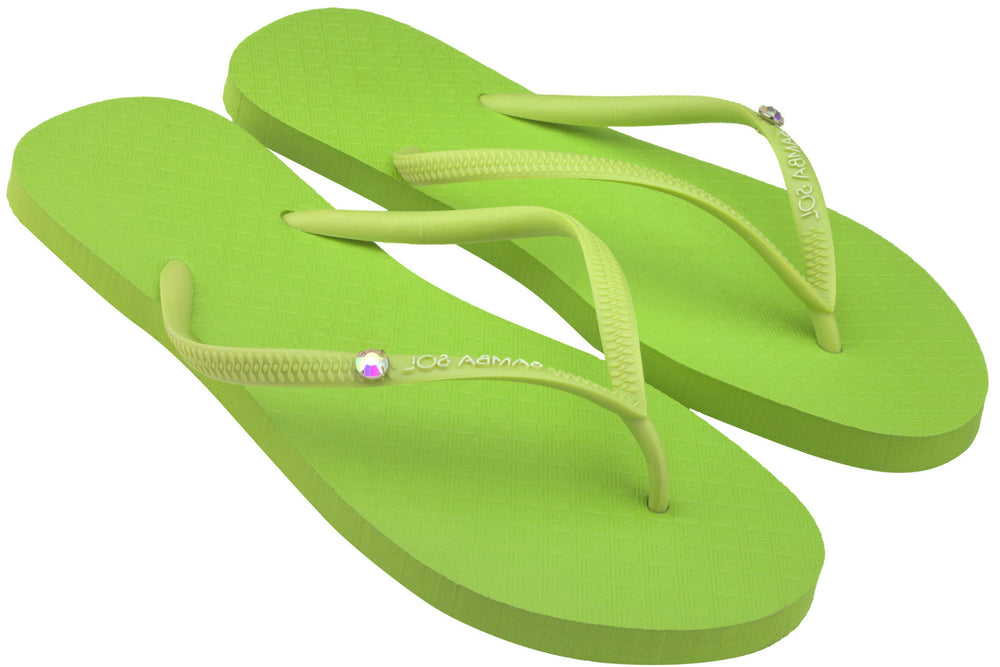 Women's Crystal Collection Flip Flops - Lais