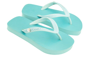 Kid's Crystal Collection Flip Flops - Elizabeth