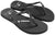 Crystal Collection Flip Flops - Black Crystal