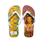 YoungArts Men Collection Flip Flops - Caley Buck