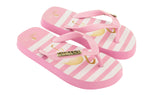 Samba Sol Kid's Fashion Collection Flip Flops - Flamingo