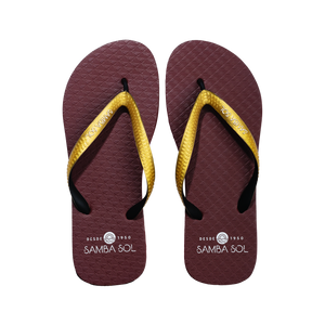 Samba Sol Men's Beach Collection Flip Flops - FSU Florida State