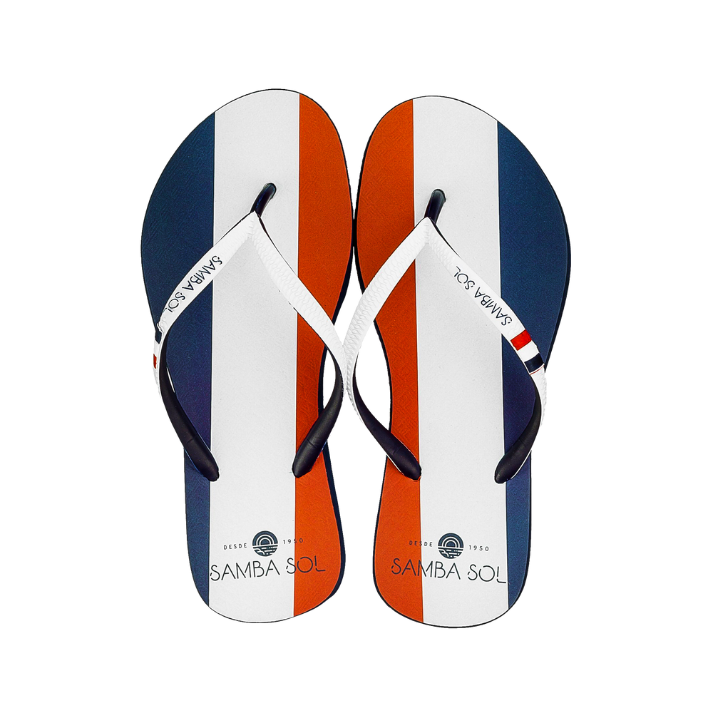 Women's Flag Collection Flip Flops - France
