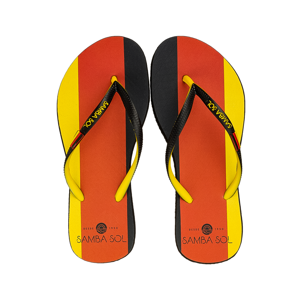 Samba Sol Women's Countries Collection Flip Flops - Germany