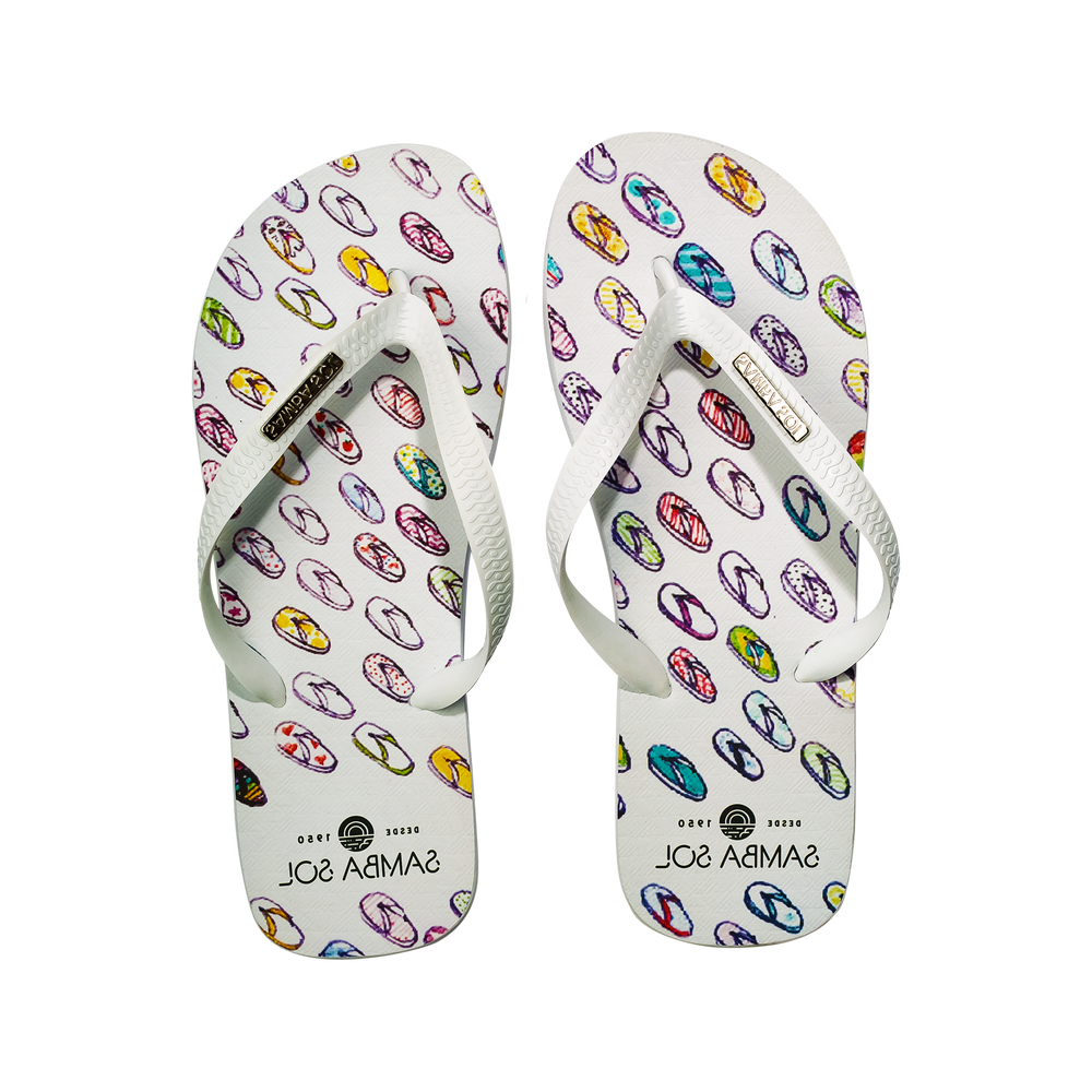 YoungArts Men Collection Flip Flops - Isabela Dos Santos
