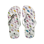 Samba Sol Men's YoungArts Collection Flip Flops - Isabela Dos Santos