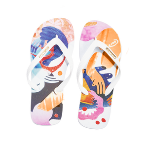 Samba Sol Men's YoungArts Collection Flip Flops - Nadia Wolff-Samba Sol
