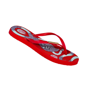 Samba Sol Women's YoungArts Collection Flip Flops - Panteha Abareshi-Samba Sol