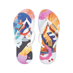 Samba Sol Women's YoungArts Collection Flip Flops - Nadia Wolff