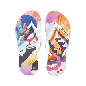 Samba Sol Women's YoungArts Collection Flip Flops - Nadia Wolff-Samba Sol